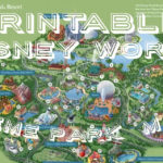 All Walt Disney World Resort Theme Park Maps Theme Park