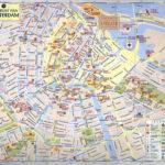 Amsterdam City Map Tourist Oppidan Library