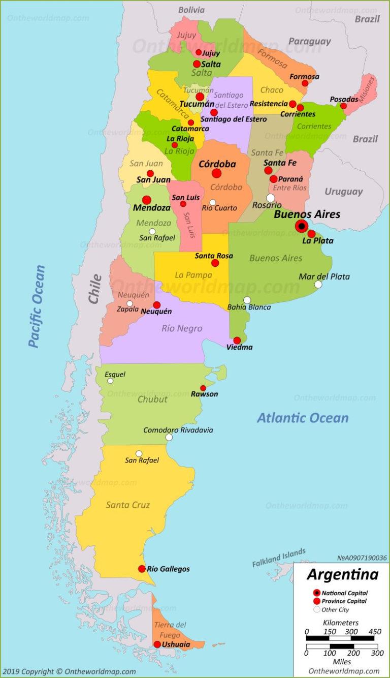 Argentina Maps Maps Of Argentina