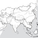 Asia Political Map Printable Printable Maps