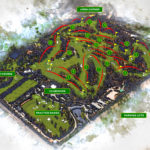 Augusta National Golf Club Course Map