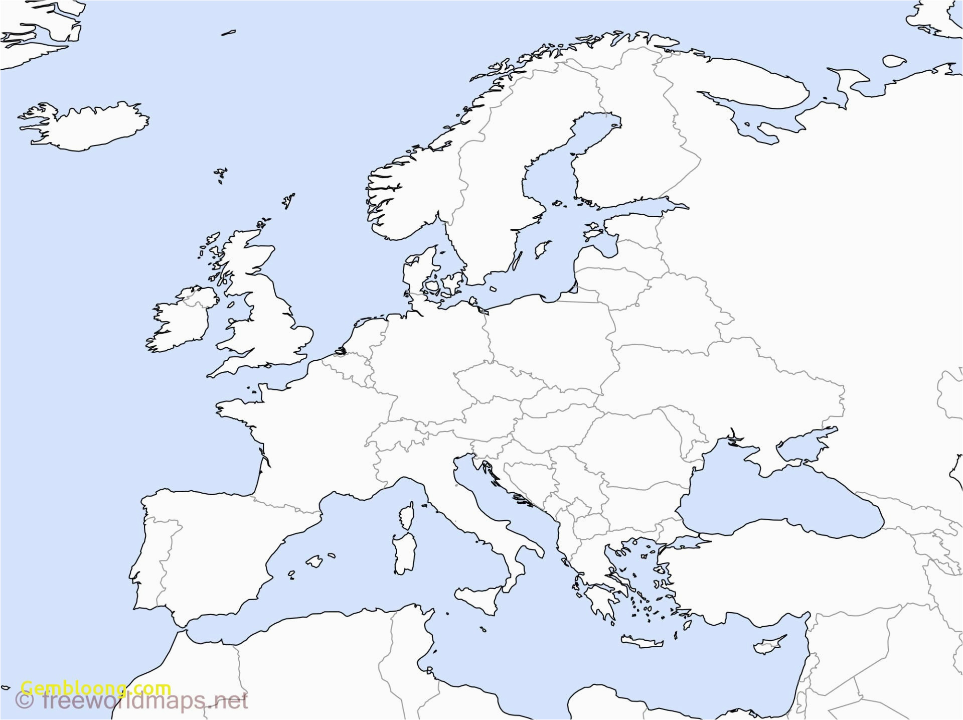 Blank Map Of Europe Pdf 20 Finicky World Map With Details