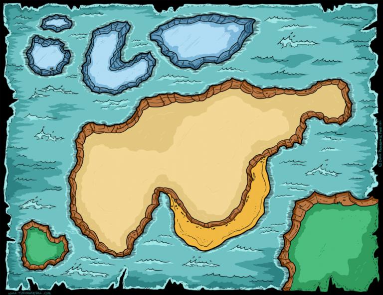 Blank Treasure Map Printable Printable Maps