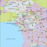 Buy Los Angeles City Map