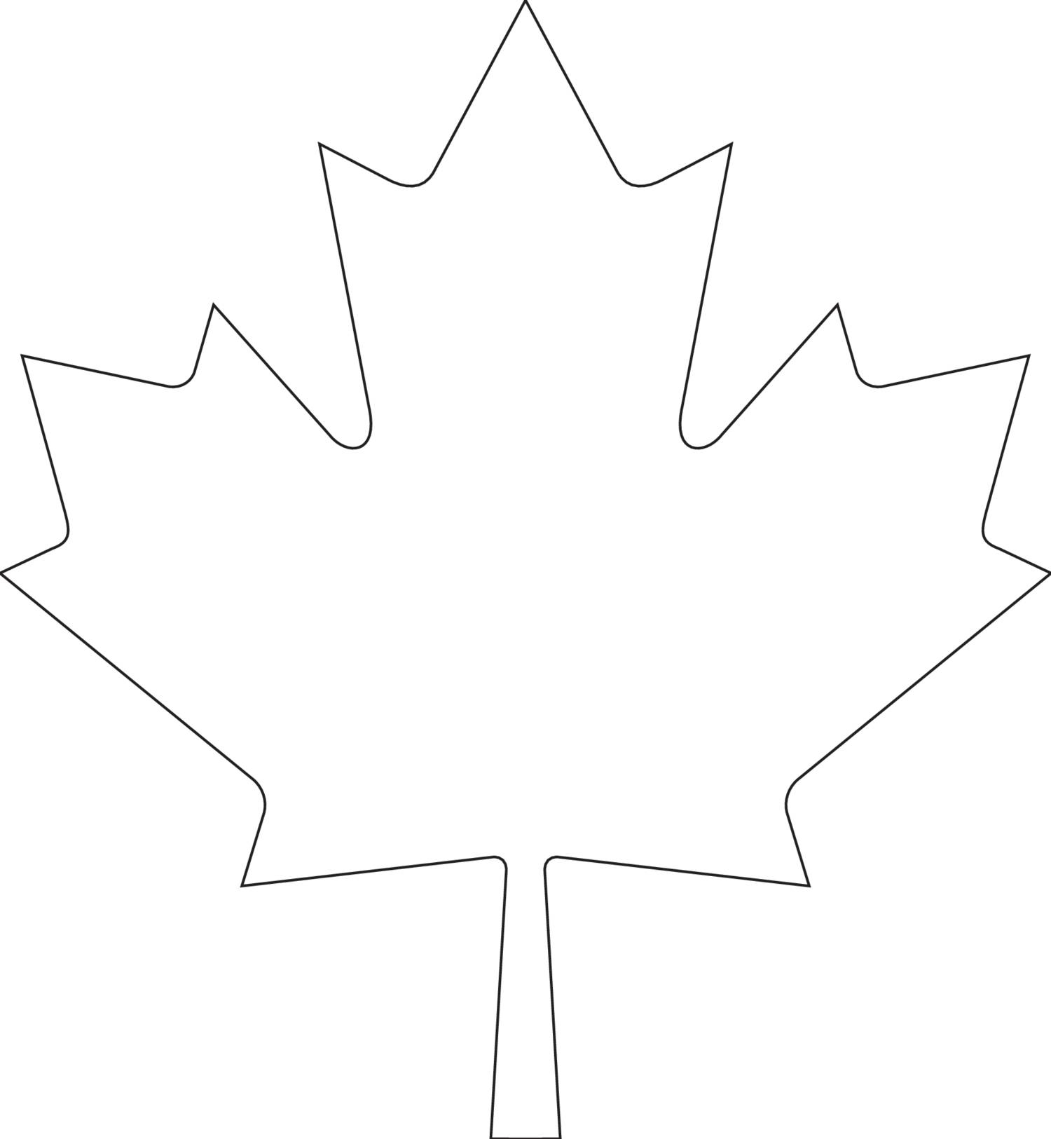 Canada Day Maple Leaf Template pdf DocDroid