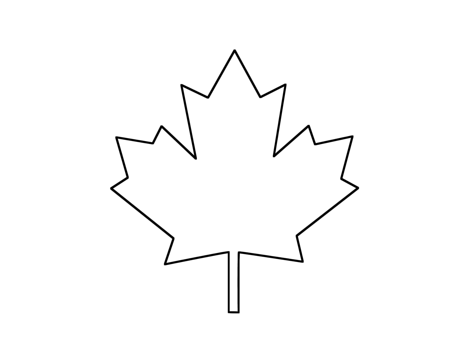 Canadian Maple Leaf Cliparts co
