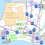 Cape May Birding And Nature Spots Map Cape May Cape