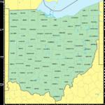 Counties Map Of Ohio Mapsof Net