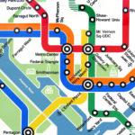 Dc Metro Map Overlay Street Map Metro Map