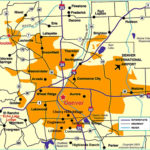 Denver Map Free Printable Maps