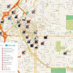 Denver Printable Tourist Map Denver Attractions