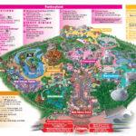 Disneyland Park Map In California Map Of Disneyland