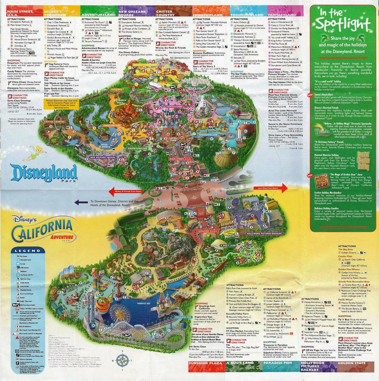 Disneyland Printable Park Map 2014 File Name