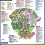 Disneys Magic Kingdom Map Disney039s Magic Kingdom