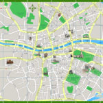 Dublin Map Printable Walking Map Of Favourite Points Of