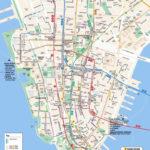 Free Printable Map Of Manhattan Free Printable