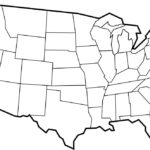 Free Printable Maps Blank Map Of The United States Us