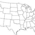 Full Page Printable Map Of Usa Printable US Maps