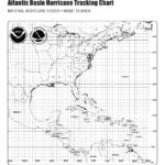 H1 Hurricane Season 99 Printable Hurricane Tracking Map