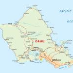 Hawaii Oahu Island Map Large Printable And Standard Map