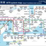 Hong Kong MTR Map Karte Von Hong Kong MTR China