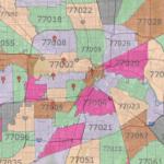 Houston Zip Code Map Printable Printable Maps