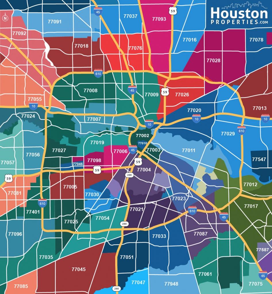 Houston Zip Code Maps Ameritex Houston Movers Throughout