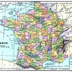 Instant Art Printable Map Of France The Graphics Fairy
