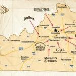 Kentucky Bourbon Trail Map Kentucky Bourbon Trail