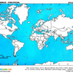 Kids Science Projects World Political Map Free Download