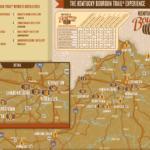 KY Bourbon Trail Map With Images Bourbon Trail