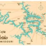 Lake Of The Ozarks Map Ozarks Map Lake Map Lake