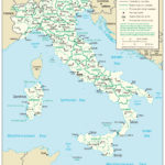 Large Detailed Administrative Divisions Map Of Italy