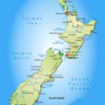 Large Detailed Map Of New Zealand With Cities New