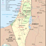 Large Detailed Political And Administrative Map Of Israel