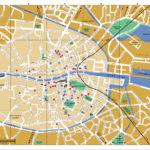 Large Detailed Tourist Map Of Dublin City Center Dublin