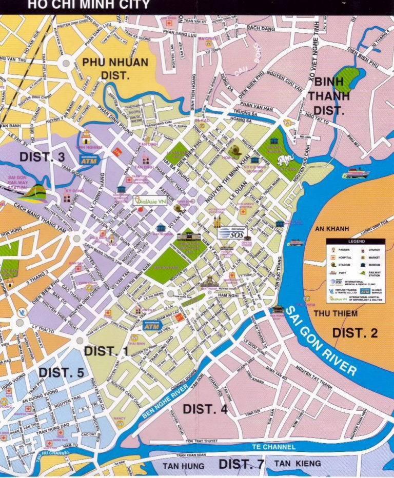 Large Ho Chi Minh City Maps For Free Download And Print