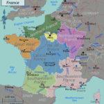 Large Political Map Of France France Large Political Map