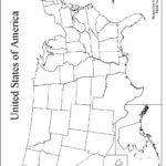 Large Printable Blank United States Map Printable US Maps
