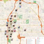 Las Vegas Printable Tourist Map Sygic Travel