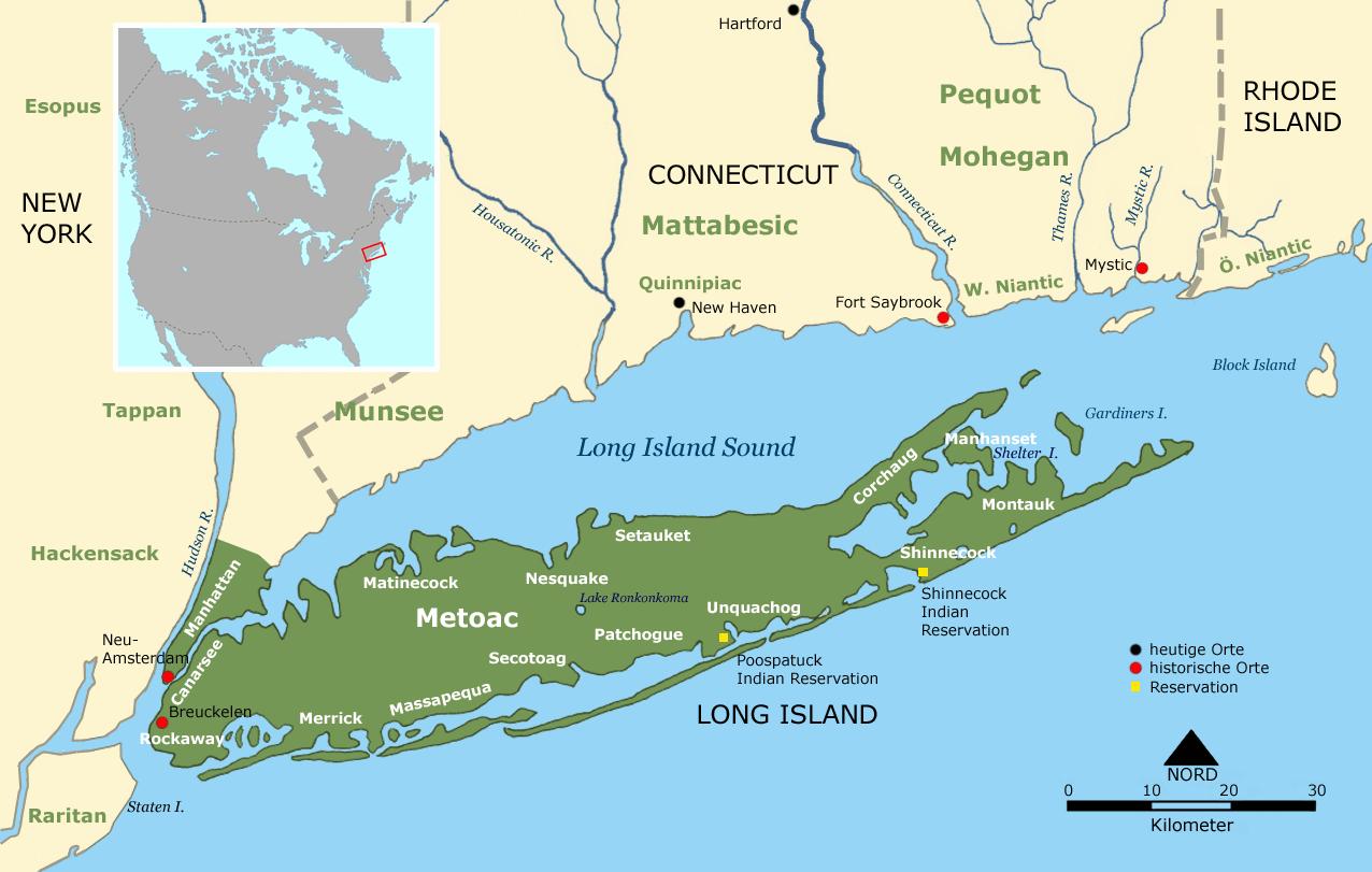Longisland Mapsof