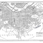Louisville Skywalk Map