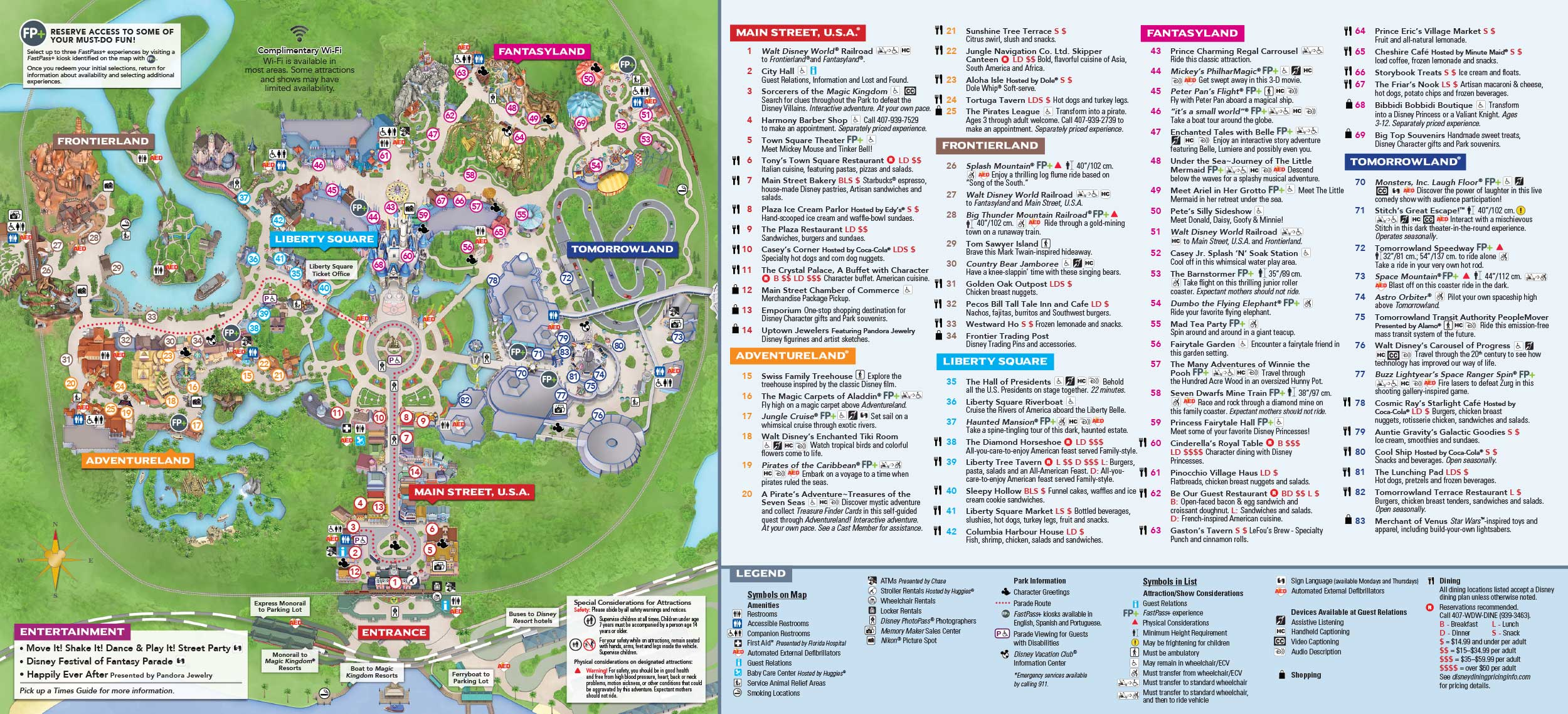 Magic Kingdom Itineraries Mickey Chatter
