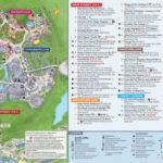 Magic Kingdom Park Map Walt Disney World Disney World