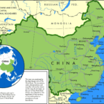 Major Chinese Cities Downloadable Printable Map China Mike