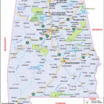 Map Of Alabama Map Of Florida Printable Maps Alabama