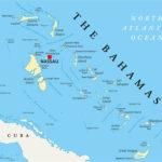 Map Of Bahamas W Out Islands Political Map Bahamas Island