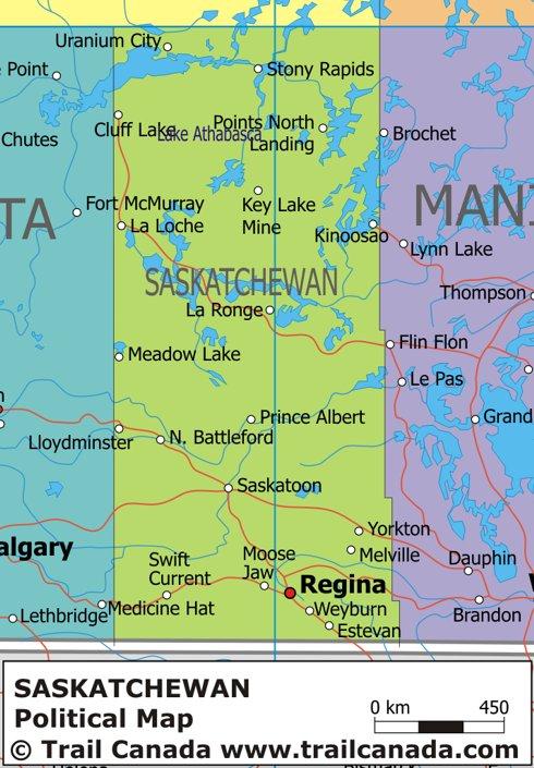 Map Of Canada Regional City In The Wolrd Saskatchewan Map
