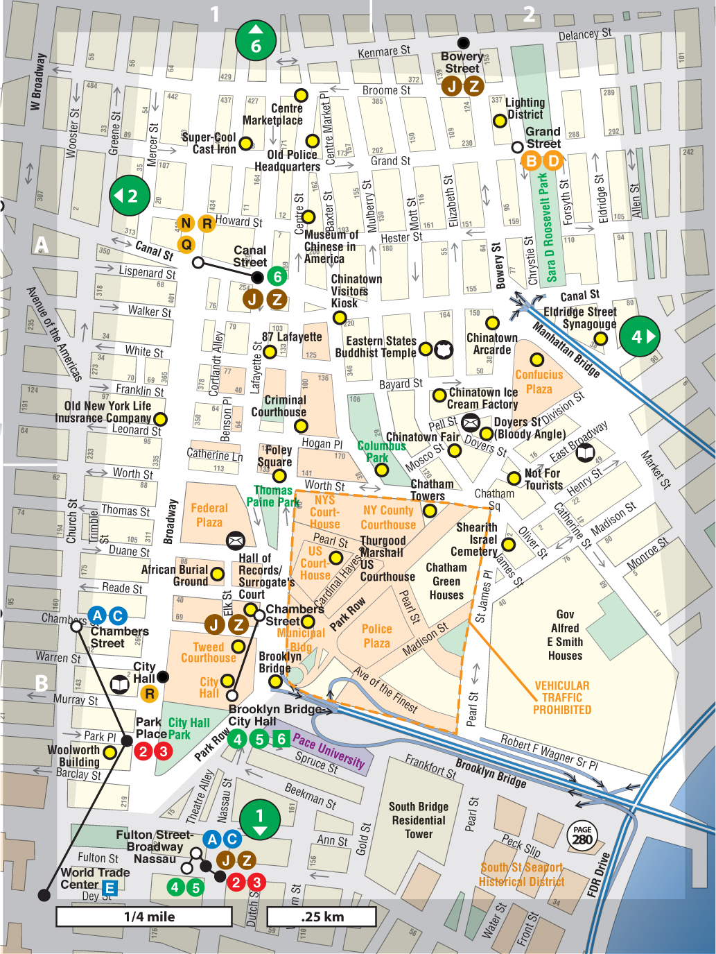 Map Of China Town Nyc Maping Resources