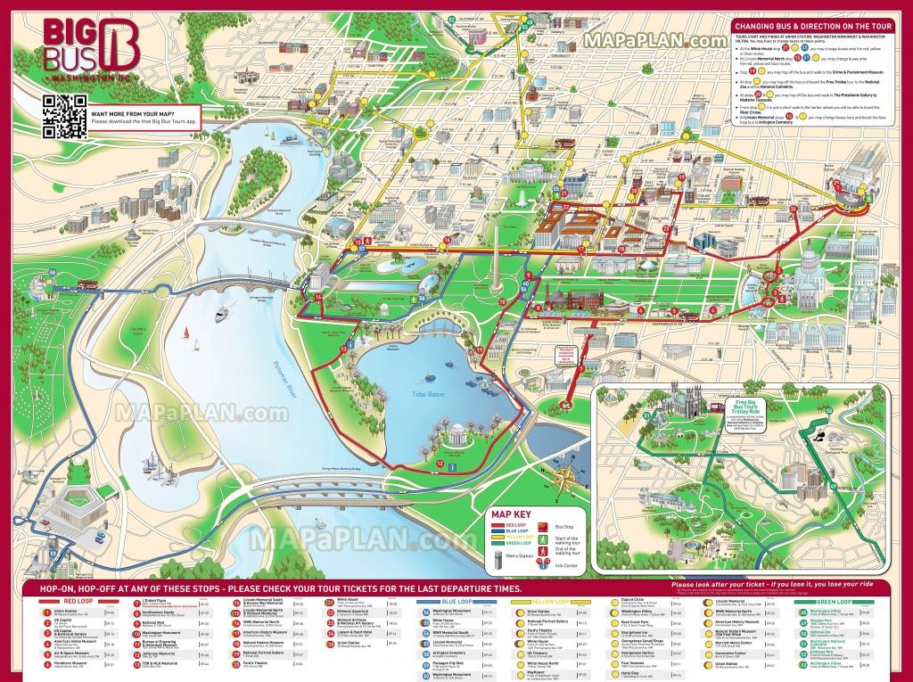 Map Of Downtown Washington Dc Printable Free Printable Maps
